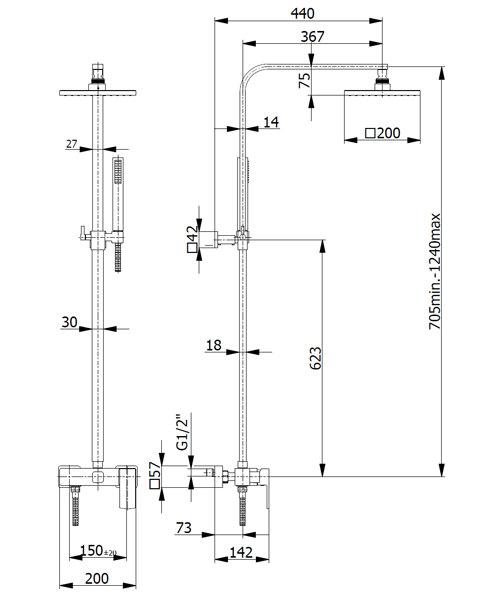 Technical drawing 59469 / FMART15871