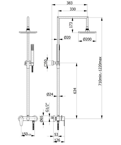 Technical drawing 59467 / FMART15496