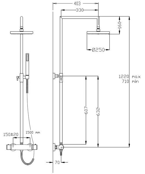 Technical drawing 59470 / FM13460.121.C