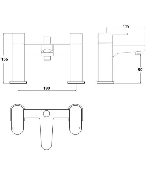Technical drawing 60176 / BIQCA01