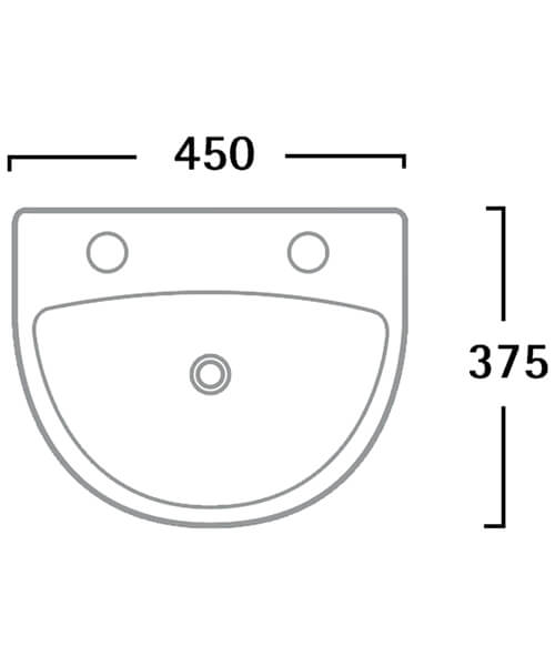 Technical drawing 30090 / DB145S