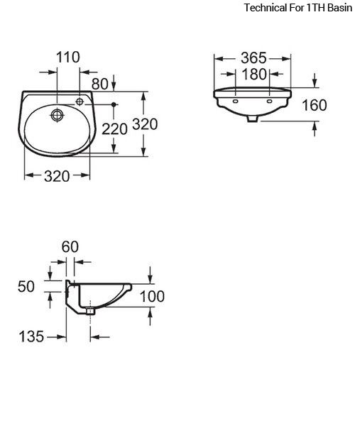 Technical drawing 19971 / LH10191TH