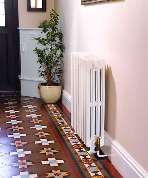 Additional image of Apollo Firenze 6 Column Cast Iron Radiator 430mm High - 6 To 20 Sections
