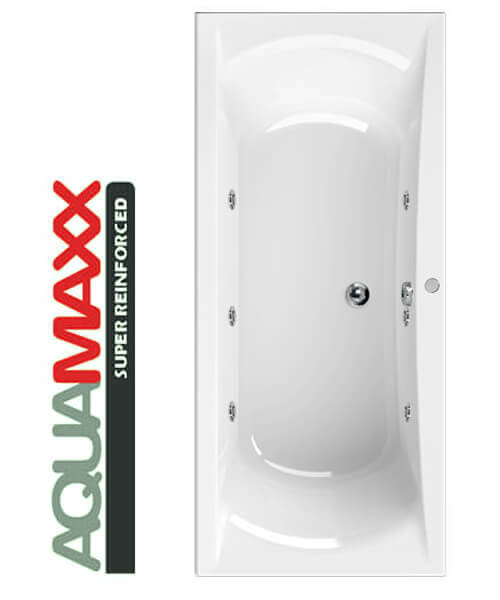 Aquaestil Arena Aquamaxx 1700 x 750mm Whirlpool Bath