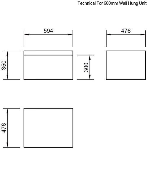 Technical drawing 46828 / FL60SDWMC