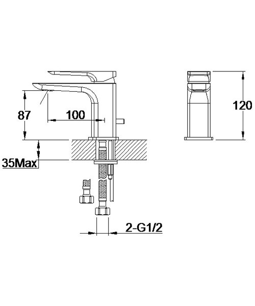 Technical drawing 60111 / S858-0100