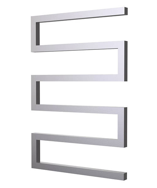 Radox Serpentine Designer Heated Towel Rail 500 x 730mm - Chrome