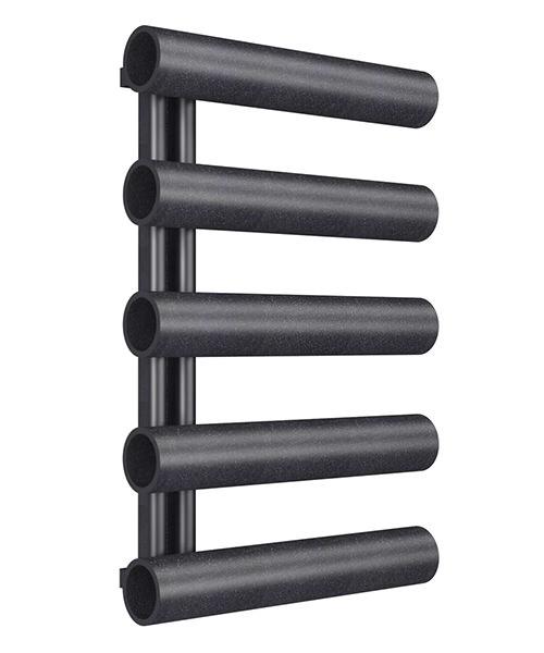 Radox Cannon Designer Heated Towel Radiator 500 x 800mm - Black Pearl