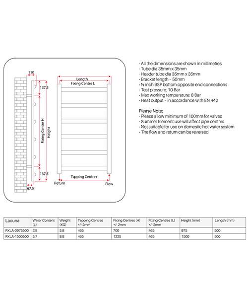 Technical drawing 62569 / RXLA-0975500-BP