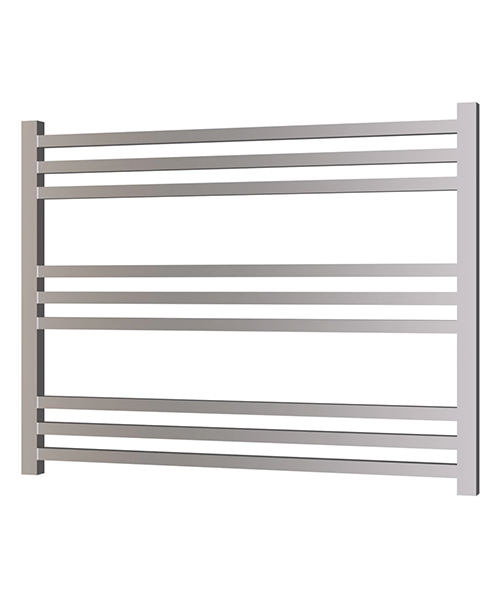 Radox Quebis 800 x 610mm Horizontal Heated Towel Rail In Chrome