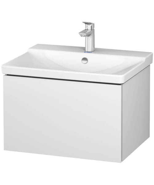 Duravit L-Cube 1 Drawer Wall Mounted Vanity Unit For P3 Comforts Basin