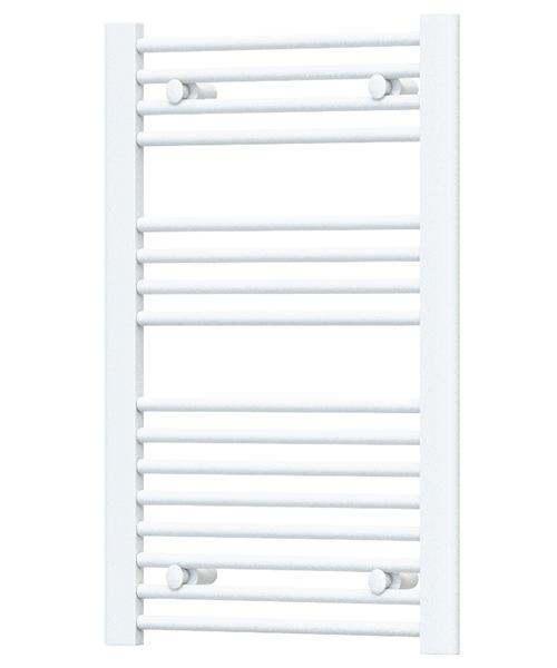 Radox Premier Flat Straight Heated Towel Rail 600 x 800mm - White