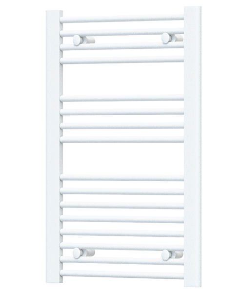 Radox Premier Flat Straight Heated Towel Rail 500 x 800mm - White