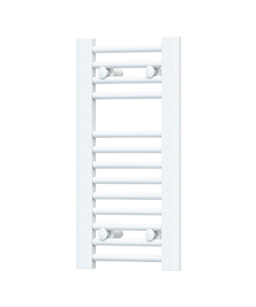 Radox Premier Flat Straight Heated Towel Rail 300 x 600mm - White