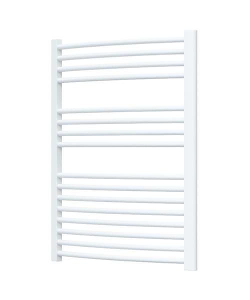 Radox Premier Curved Heated Towel Rail 600 x 800mm - White