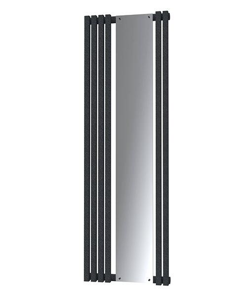 Radox Image D Designer Vertical Radiator 535 x 1800mm - Textured Black