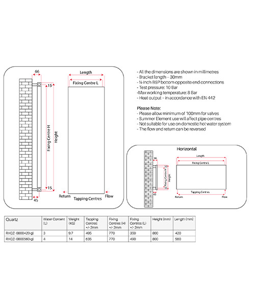 Technical drawing 62608 / RXQZ-0800420-GL