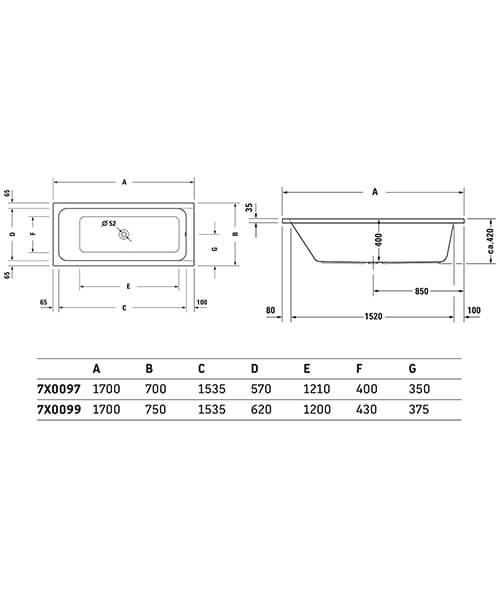 Technical drawing 53196 / 760097000JP1000