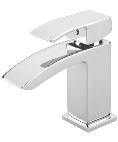 Tre Mercati Whistle Basin Mixer Tap With Click Clack Waste