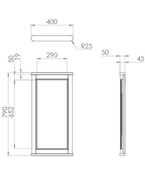 Technical drawing 59962 / SO040M.CW