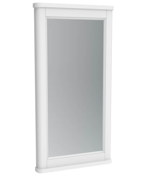 Saneux Sofia Traditional Framed Mirror With Demister Pad - 790mm Height