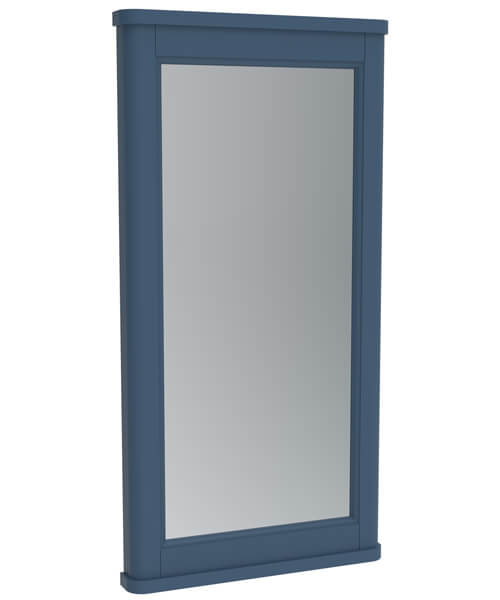 Additional image of Saneux Sofia Traditional Framed Mirror With Demister Pad - 790mm Height