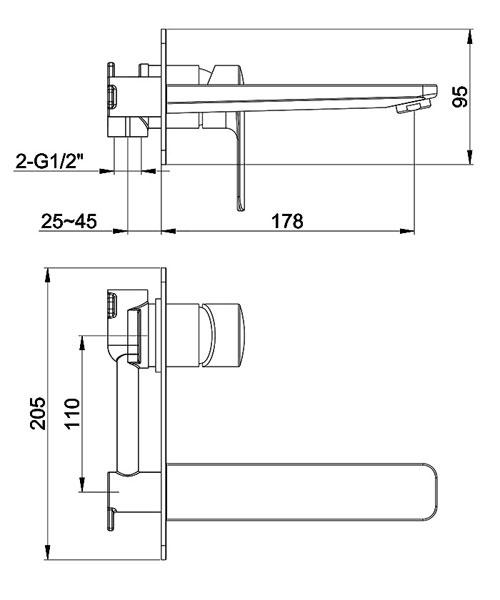 Technical drawing 60407 / SUWMBAS