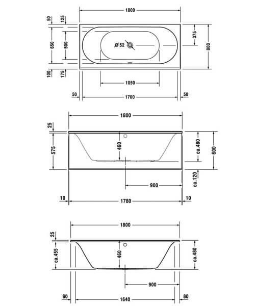 Technical drawing 50439 / 760244000JS1000