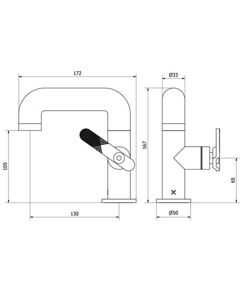 Technical drawing 59984 / UB110DNC