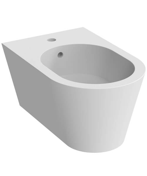 Additional image of Saneux Icon 1 TH Round Wall Hung Bidet