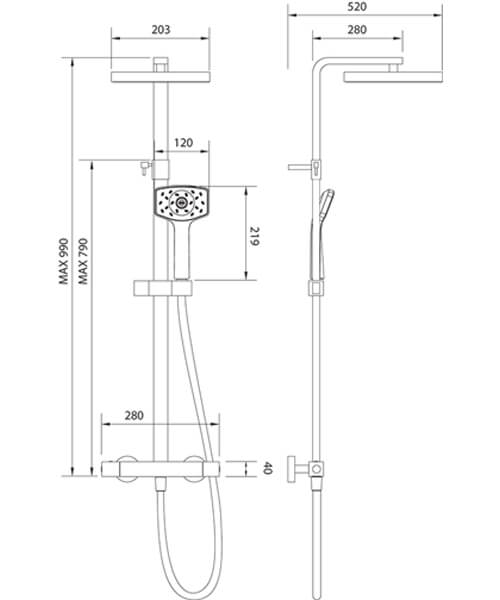 Technical drawing 56149 / WCTSDEF