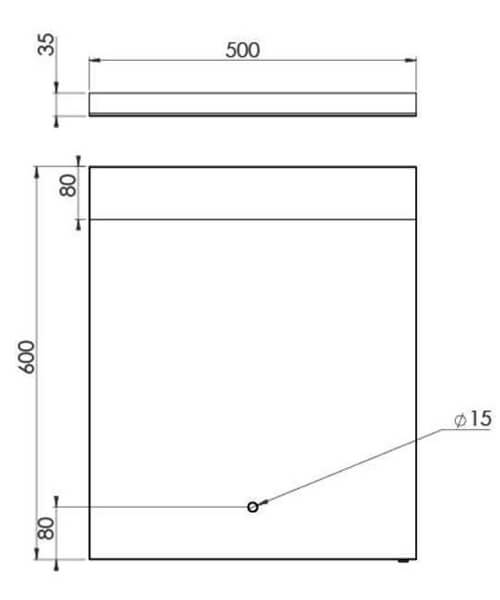 Technical drawing 63209 / MA050M