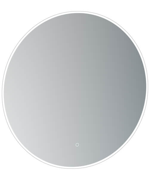 Saneux Oska Round Illuminated LED Mirror With Demister Pad - More Sizes Available