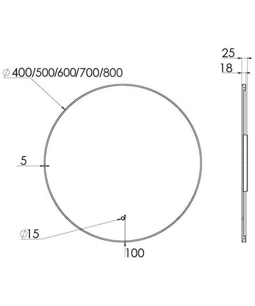 Technical drawing 63210 / OS040M