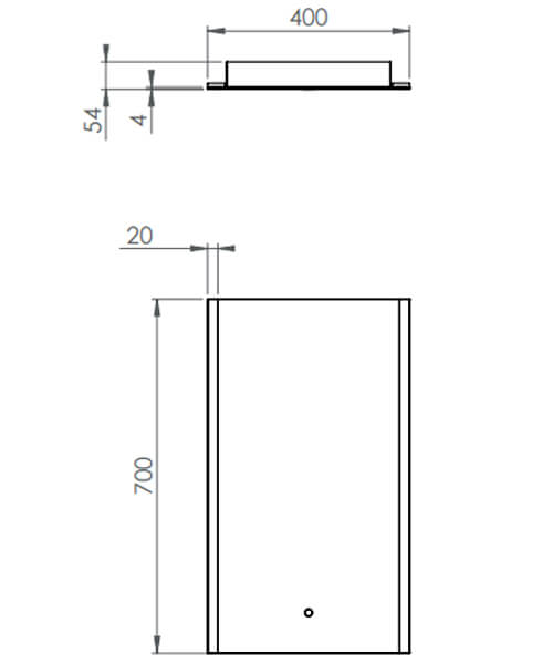 Technical drawing 56056 / AIR040M