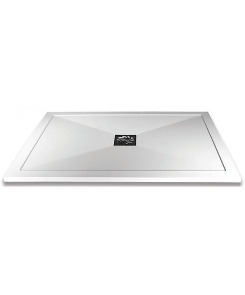 Frontline Slimline Rectangular Shower Tray With Waste