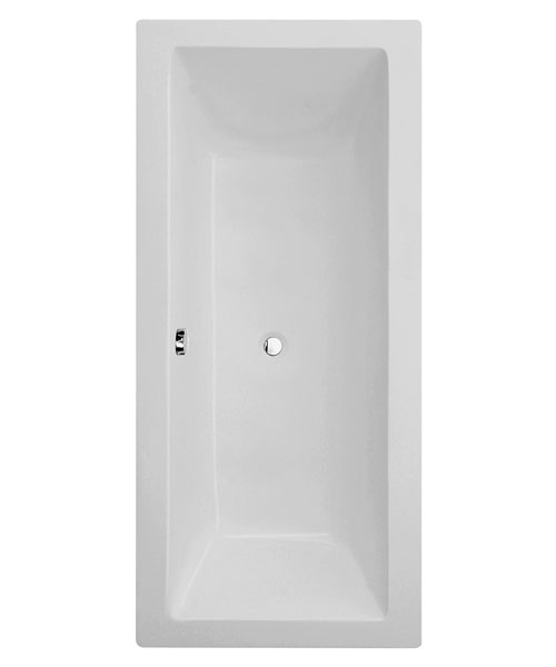 Frontline Carrera Square Double Ended Straight Bath