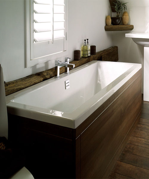 Alternate image of Frontline Carrera Square Double Ended Straight Bath
