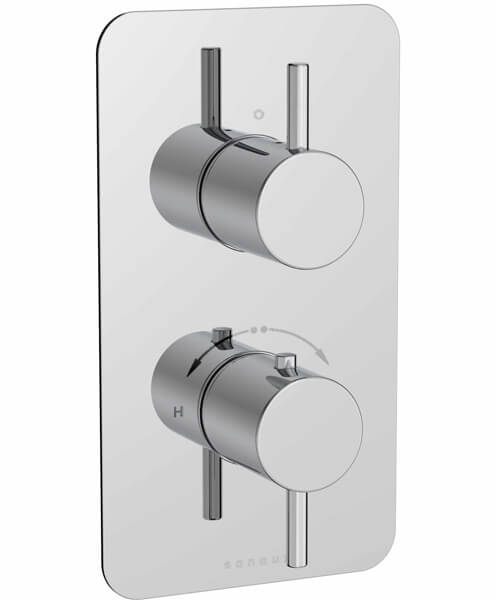 Saneux Cos Concealed Thermostatic Shower Valve