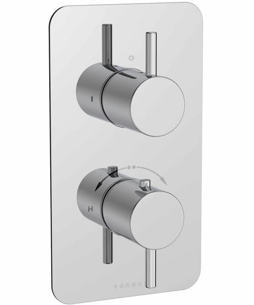 Additional image of Saneux Cos Concealed Thermostatic Shower Valve