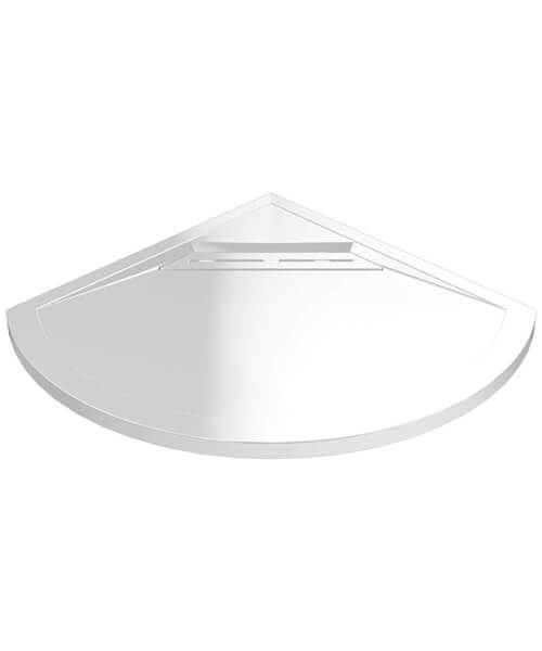 Kudos Connect2 Curved 910mm Shower Tray