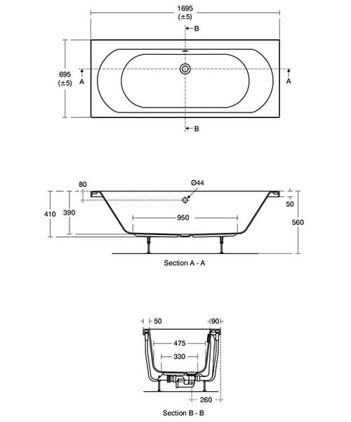 Technical drawing 58724 / T360601