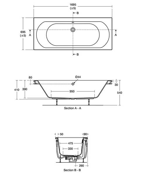 Technical drawing 58723 / T360501
