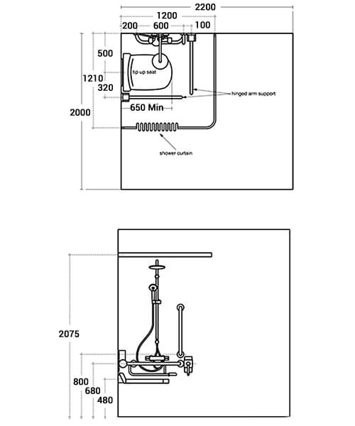 Technical drawing 59617 / S0755GQ