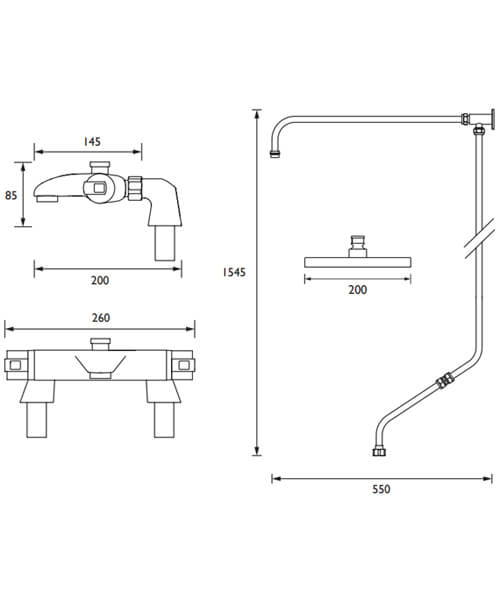 Technical drawing 63254 / AS2 THBSMRR KIT C