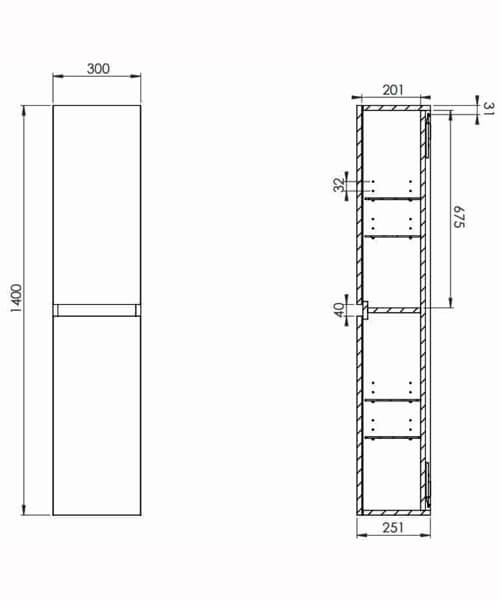 Technical drawing 63275 / M01400.1