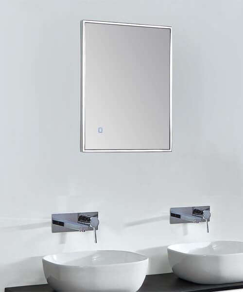 Phoenix Bordo LED Back Lit Mirror With Heated Demister Pad