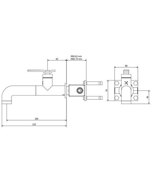 Technical drawing 59987 / UB111WNC