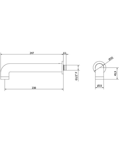 Technical drawing 63231 / UB0370C