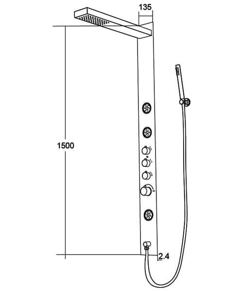 Technical drawing 62067 / BIQSML7052